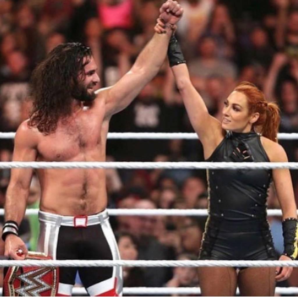Becky Lynch y Seth Rollins se van a casar