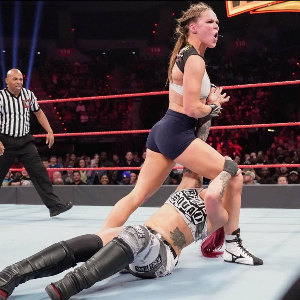 Ronda vuelve a la WWE