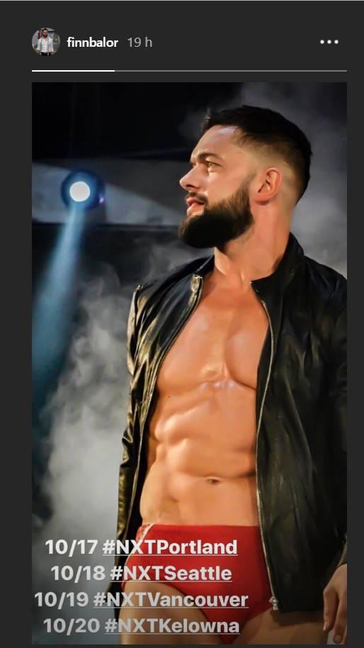 Finn Bálor no estará en SmackDown pero sí viajará con NXT