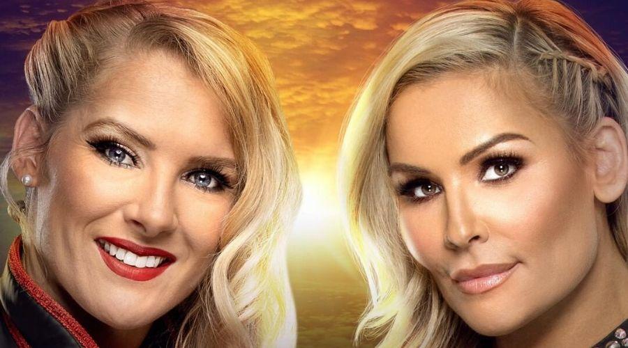 Lacey Evans y Natalya el primer combate femenino de WWE en Arabia Saudita