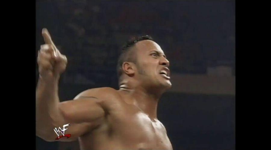 The Rock en Summerslam 1998
