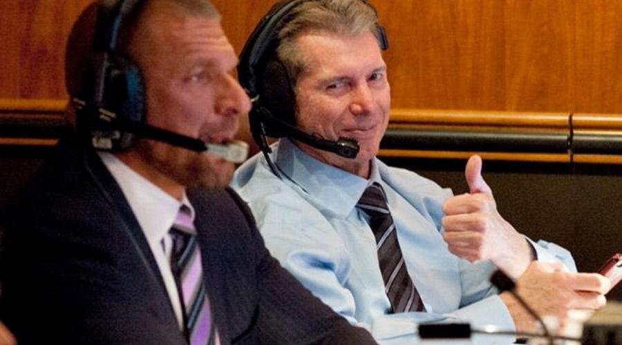Vince McMahon en Backstage