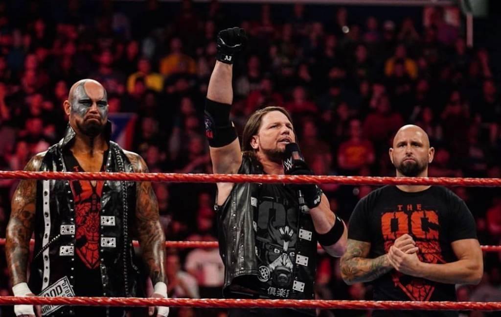 Luke Gallows y Karl Anderson en WWE Raw-IMPACT Wrestling-