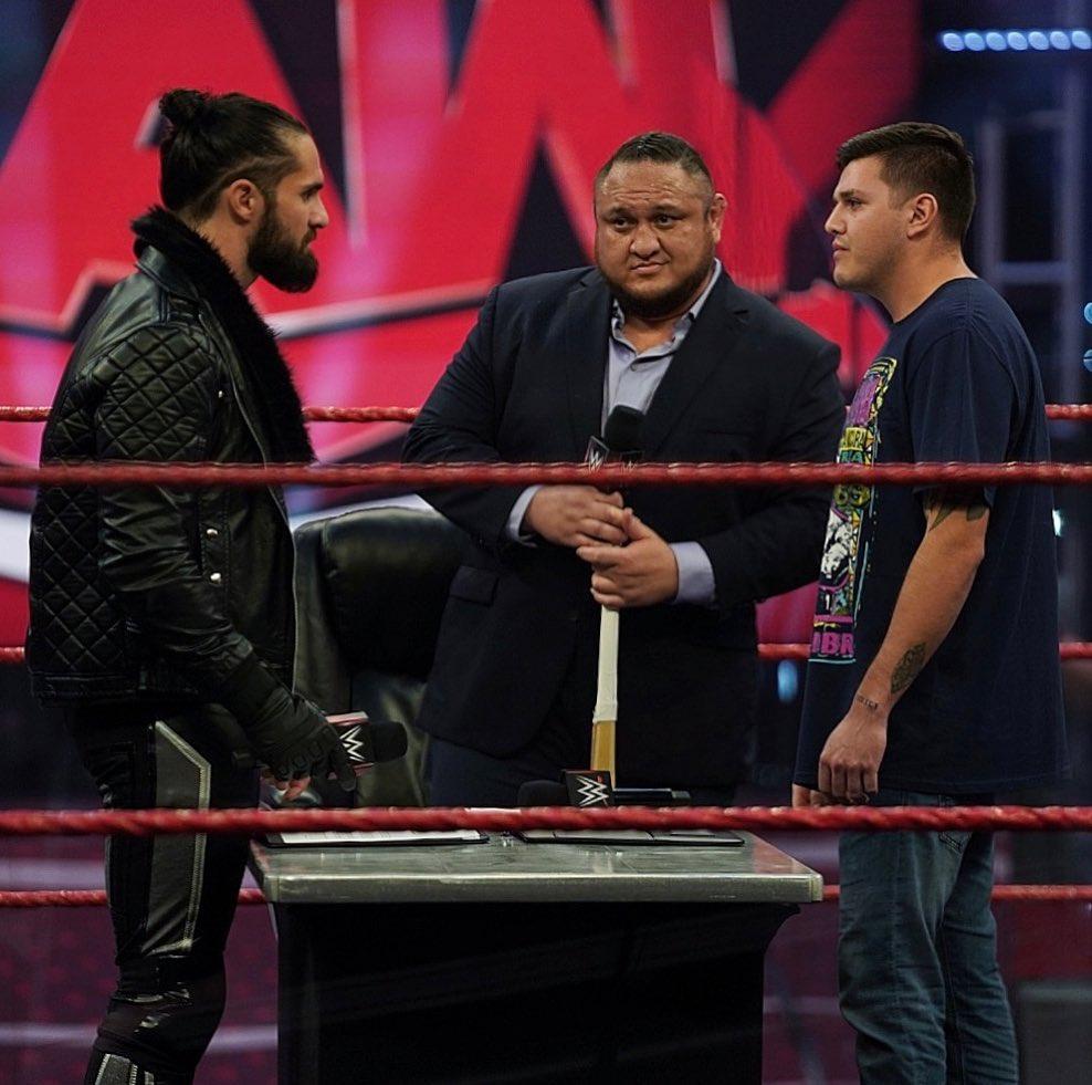 ¿Samoa Joe podría volver a luchar?