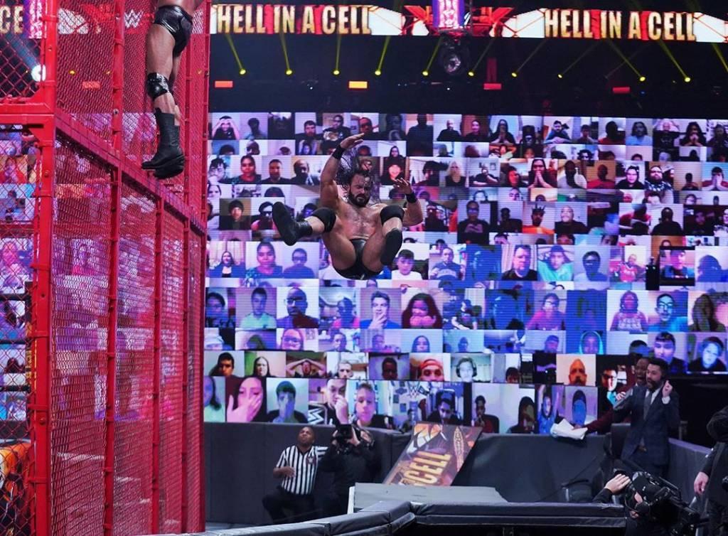 Drew McIntyre y su caída en Hell in a Cell 2020