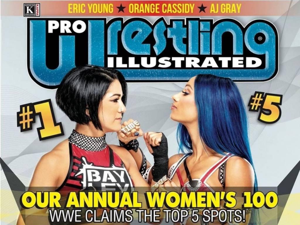 Bayley y Sasha Banks top 10 mejores luchadoras 2020