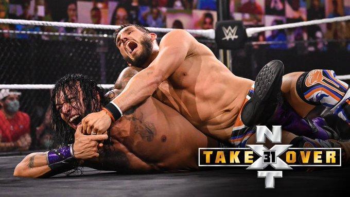 Damian Priest vs Johnny Gargano resultados NXT TakeOver 31-Ph: Twitter WWE NXT- www.wrestlingadictos.com
