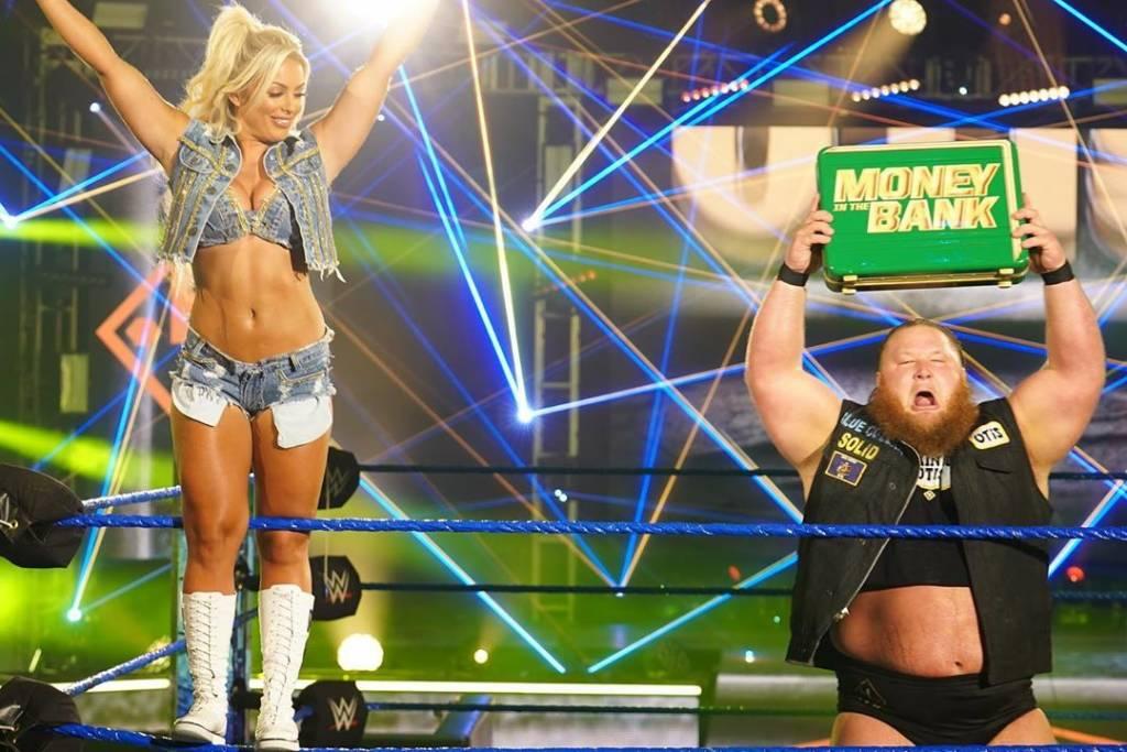 Mandy Rose y Otis separados WWE la rubia reacciona