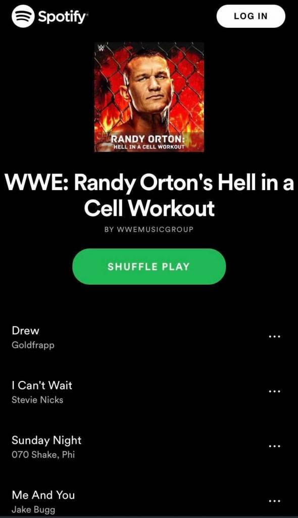 Randy Orton advertencia Drew McIntyre