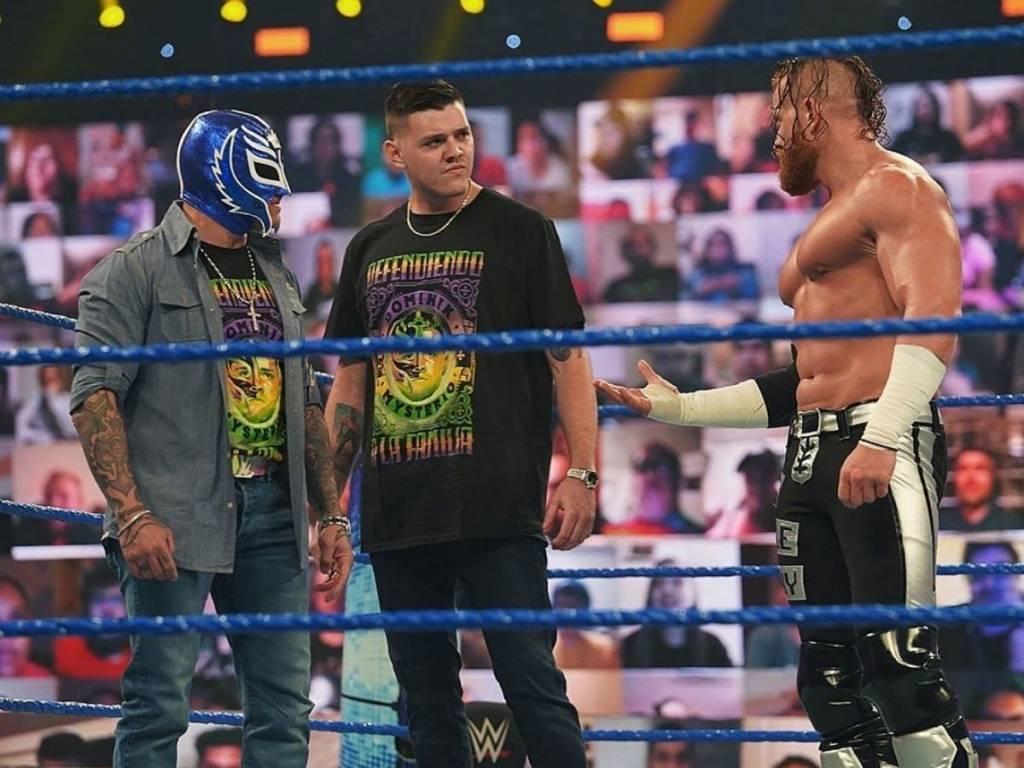 Dominik Mysterio no olvida lo que Seth Rollins y Murphy han hecho
