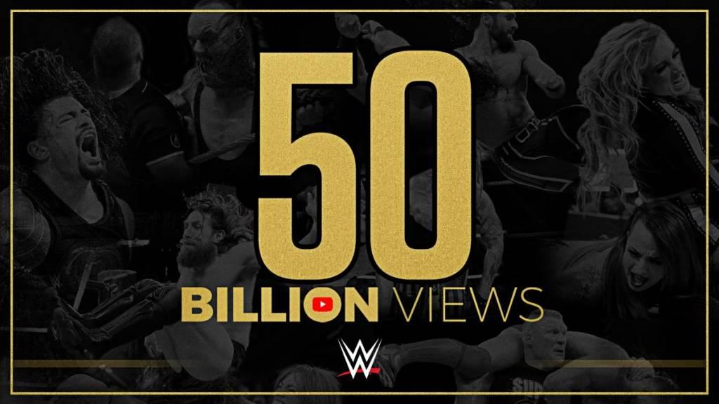 WWE rompe un importante récord en YouTube