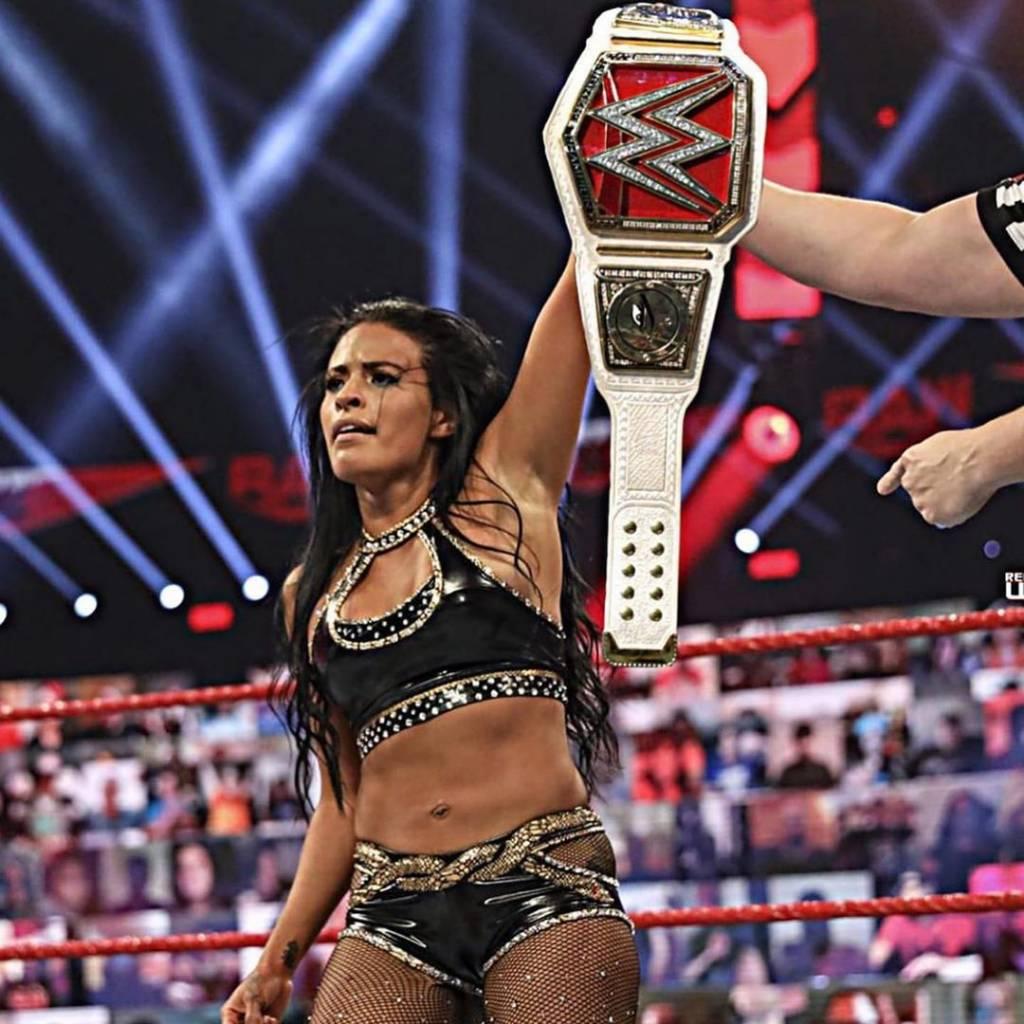 Zelina Vega tiempo contrato WWE