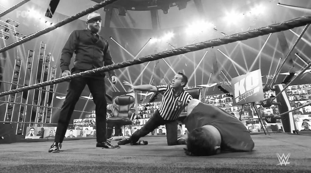 Aleister Black solicitó regreso NXT