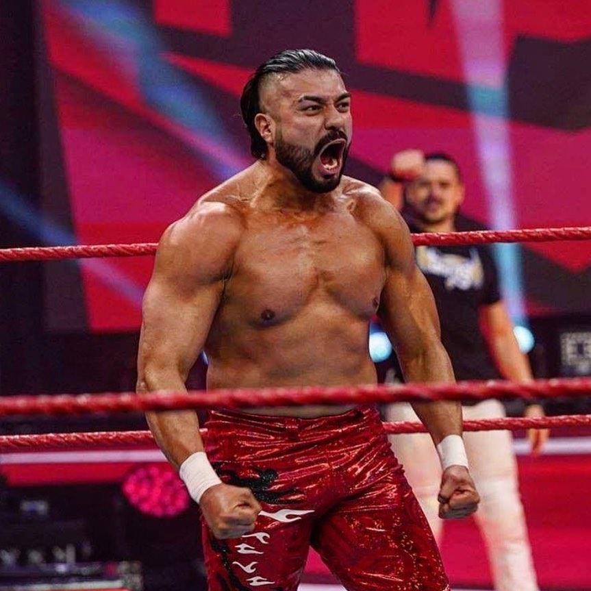 Andrade habla salida Zelina Vega WWE