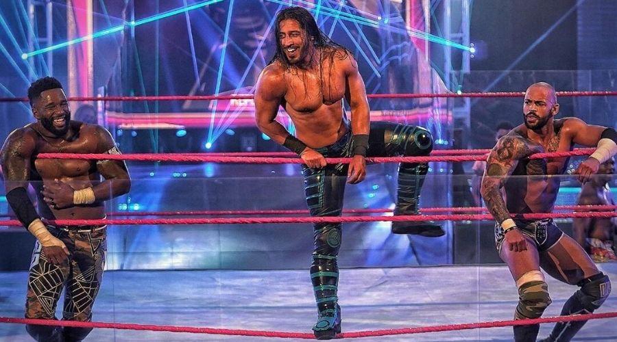 Ricochet advertencia Mustafa Ali WWE