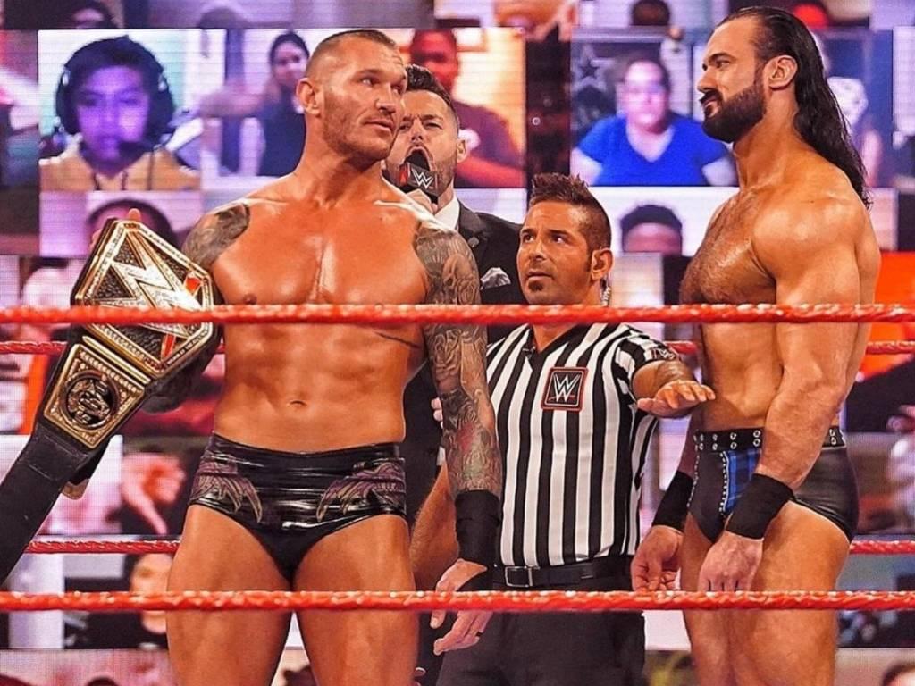 Drew McIntyre venció Randy Orton WWE Raw