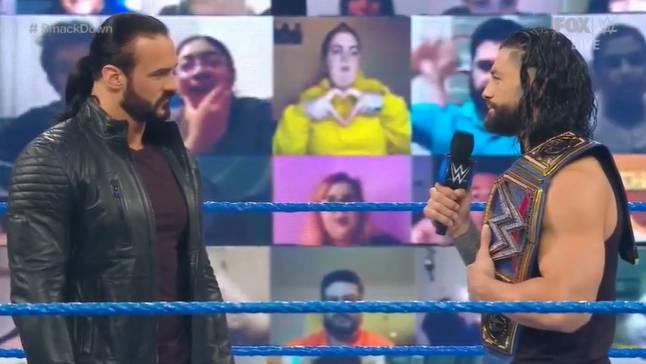 Roman Reigns responde Drew McIntyre WWE