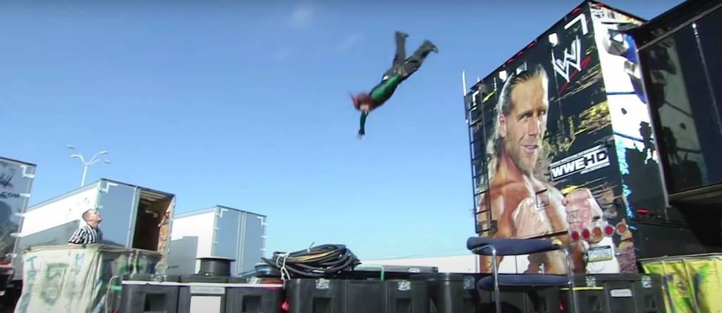 Joven Jeff Hardy saltos WWE
