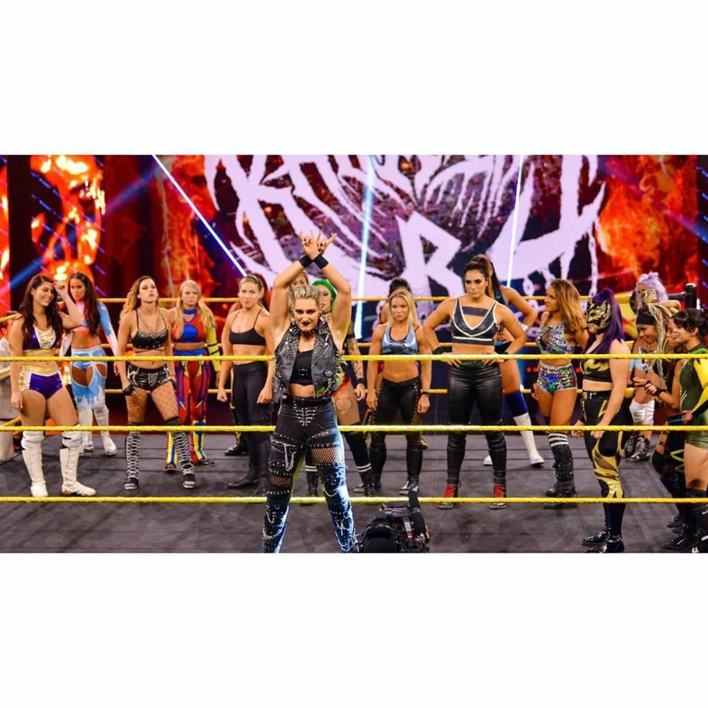 excampeona femenina de NXT menciona que algunas luchadoras son mejores que los hombres