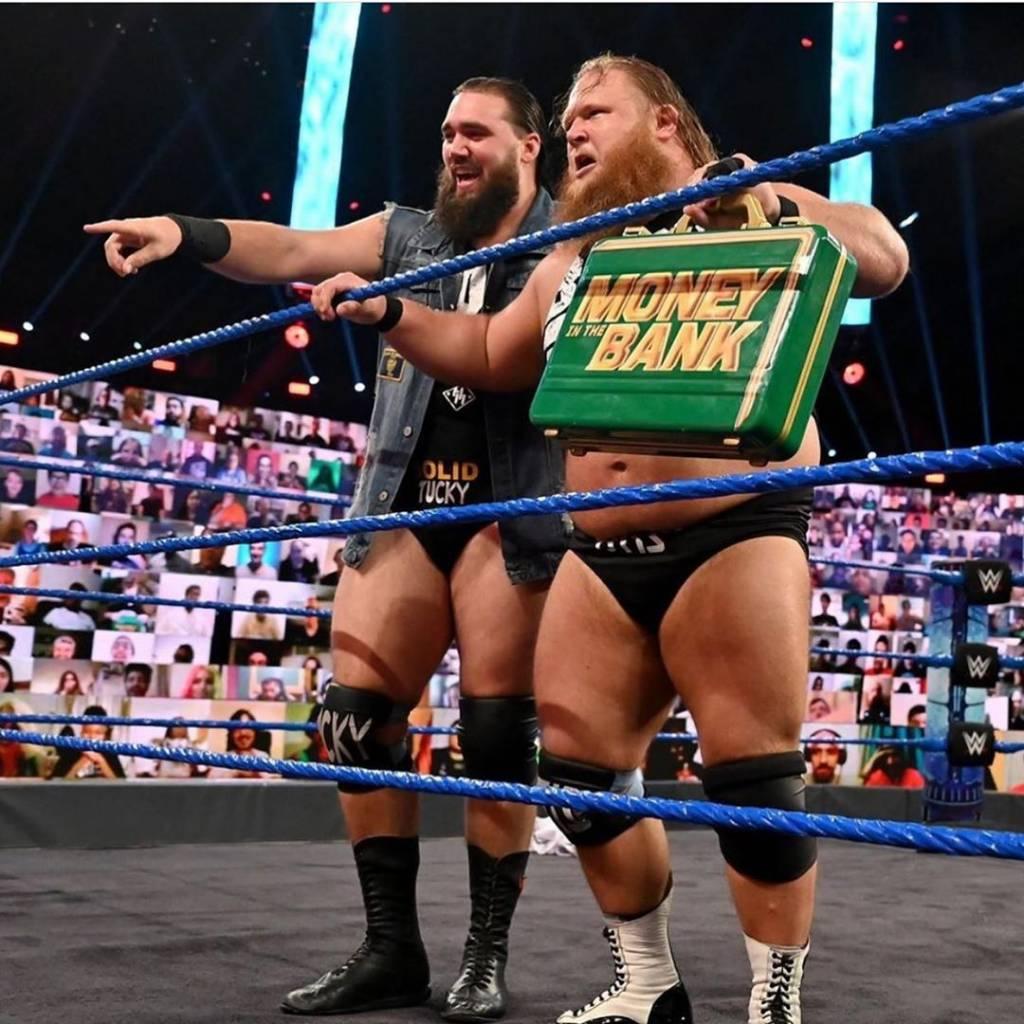 Otis espera futuro  en WWE