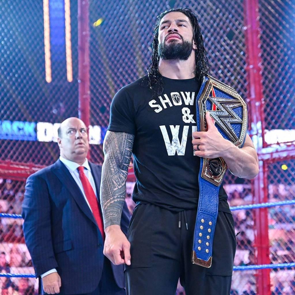 Roman Reigns y Jey Uso WWE