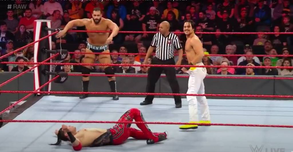 Miro Vince McMahon Rusev WWE