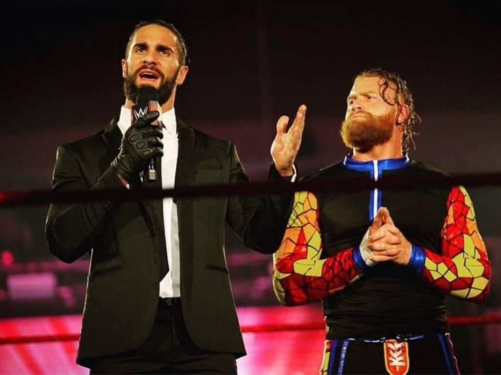 Murphy habla sinceramente Seth Rollins WWE