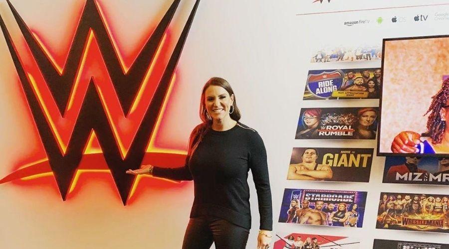 Stephanie McMahon error WWE AÑO 2020