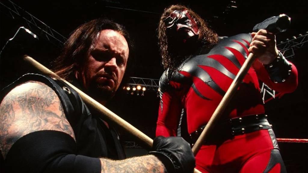 The Undertaker no retiro definitivo lucha Kane