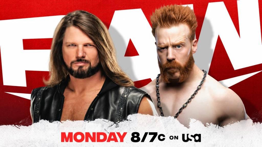 Previa cartelera WWE Raw del 14 de diciembre de 2020