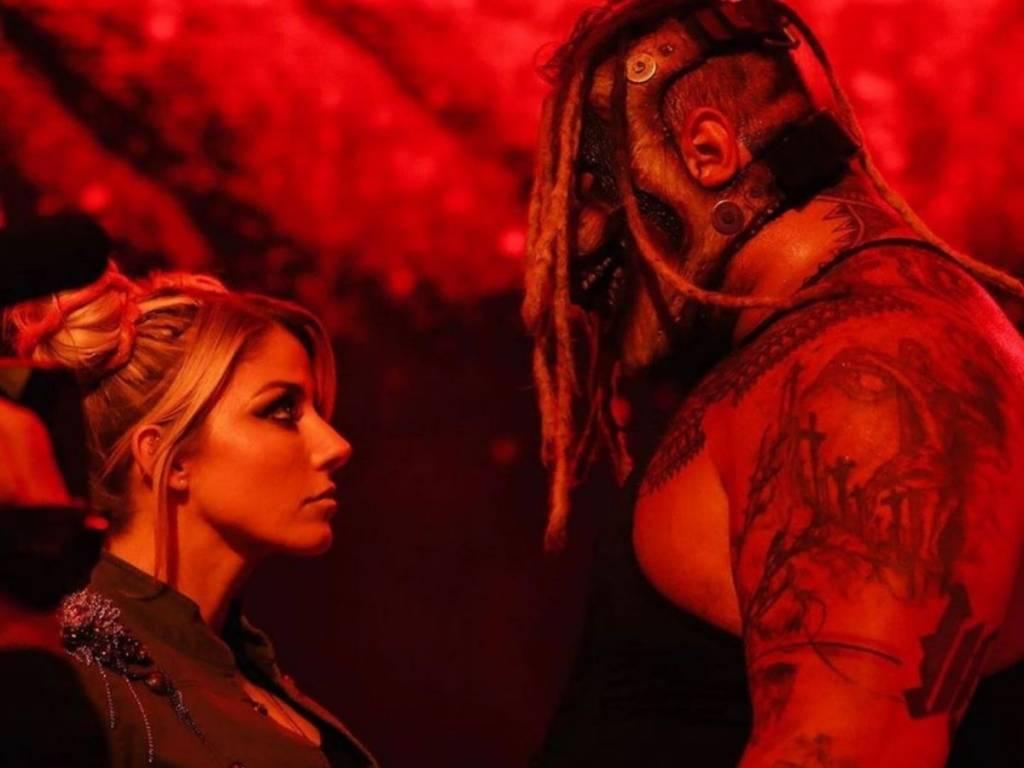 Alexa Bliss Raw Bray Wyatt ausencia dónde está