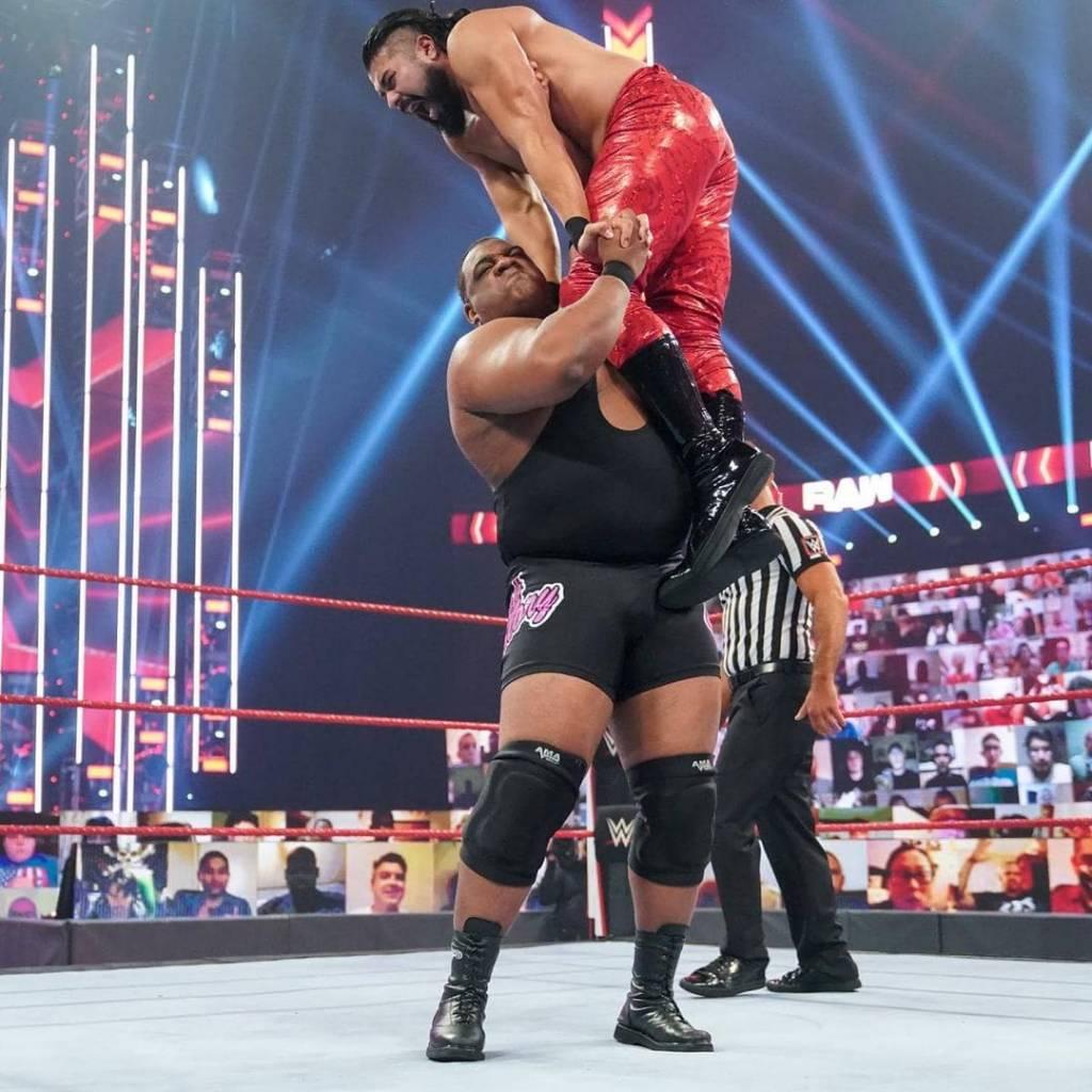 Keith Lee problemas WWE 2020