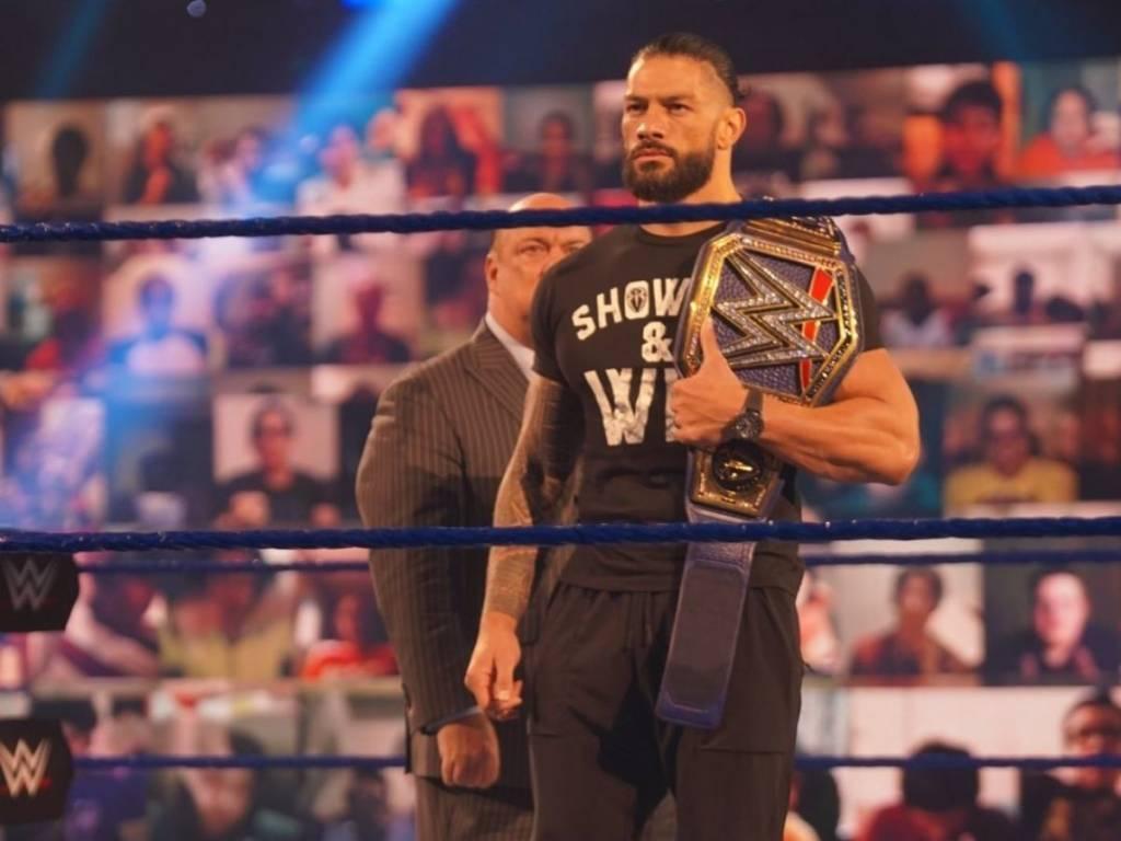 Roman Reigns WWE rivales Wrestlemania 37 2021
