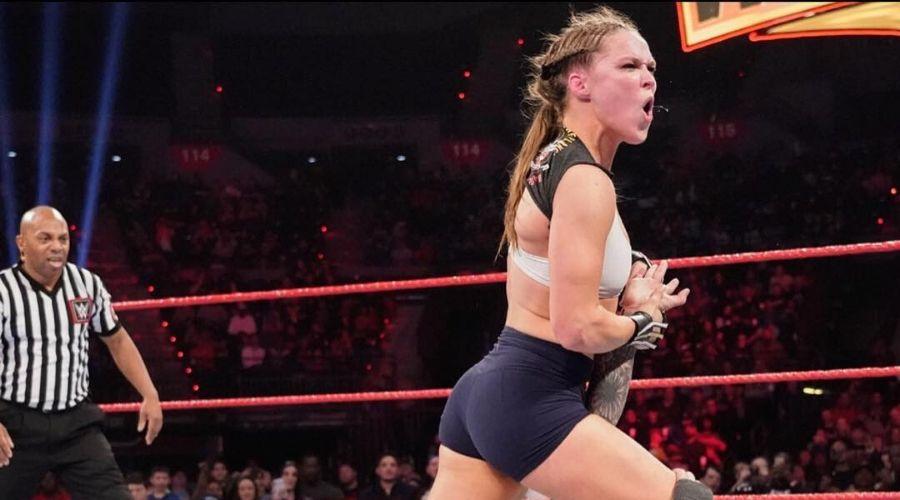 Ronda Rousey video intenciones  volver WWE