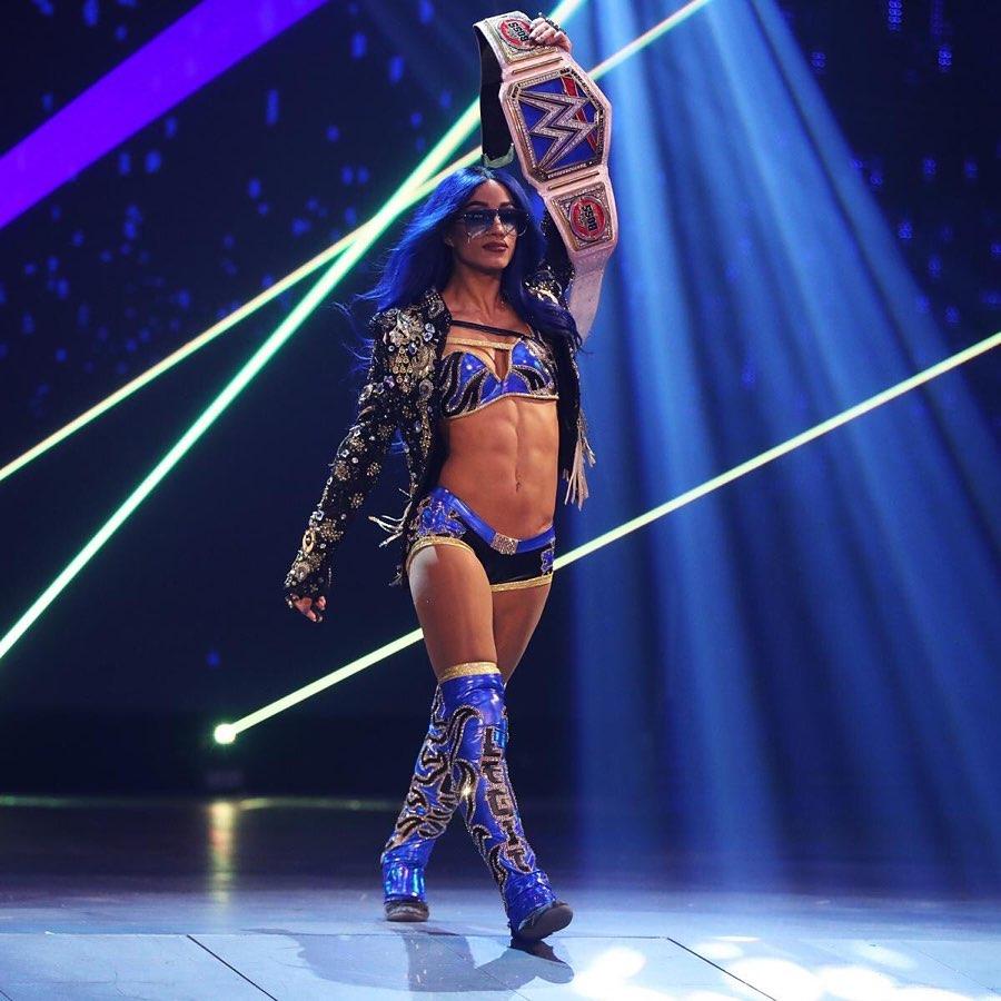 Sasha Banks WWE SmackDown 11 de diciembre 2020