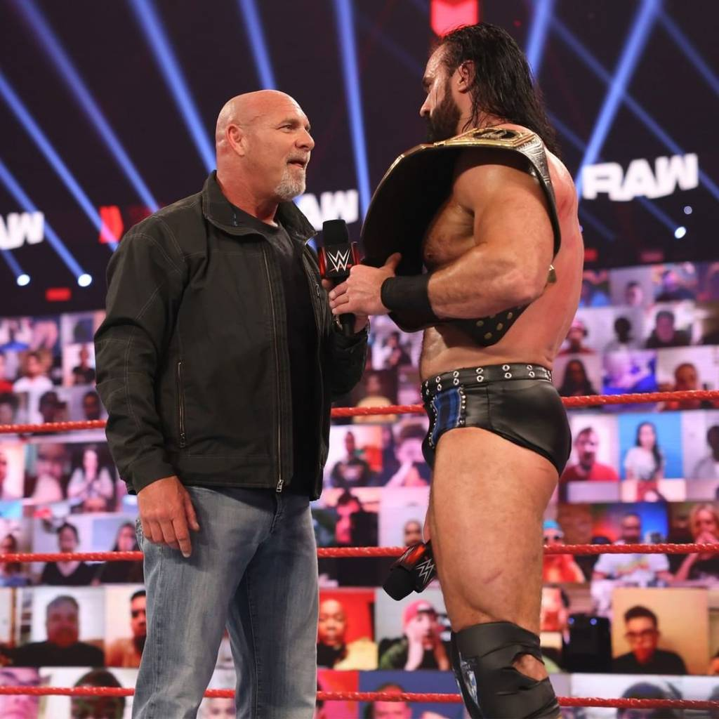 Goldberg superestrellas futuro WWE 2021