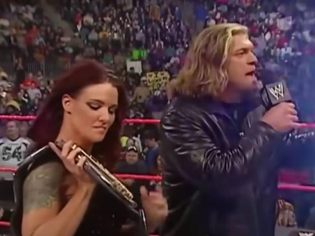 Lita revelación WWE Edge