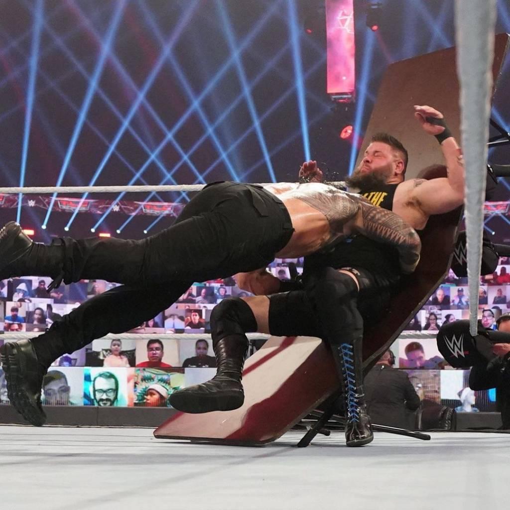 Roman Reigns WWE prohibición años