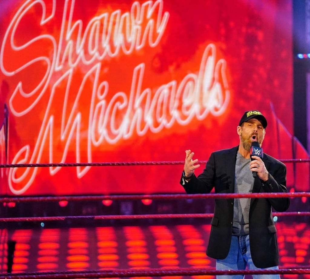 Shawn Michaels doloroso momento WWE