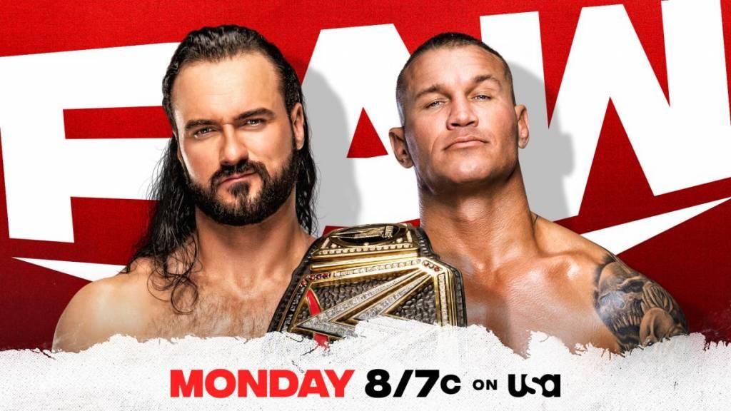 Previa horarios WWE RAW 08 de febrero de 2021 Drew vs Randy
