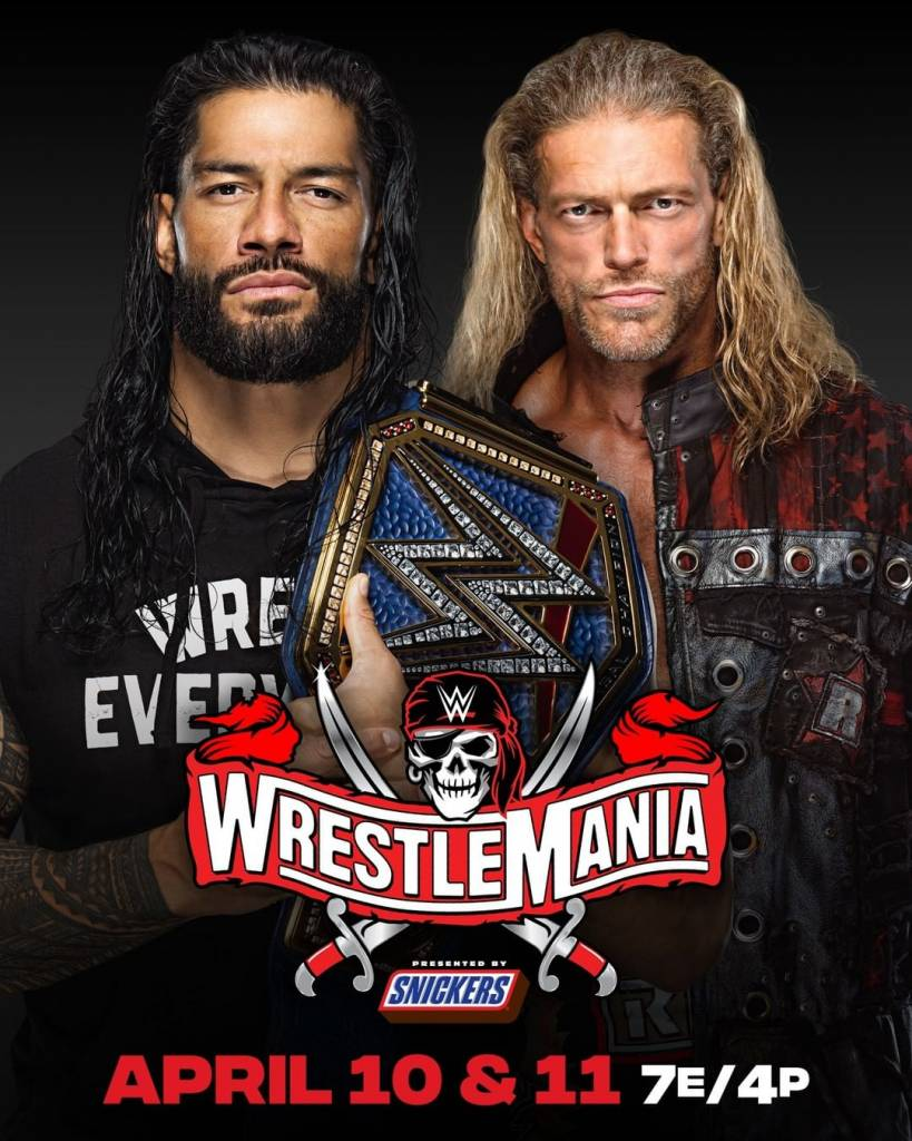Edge elige oponente WrestleMania 37 Roman Reigns
