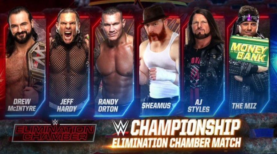 Elimination Chamber WWE Raw