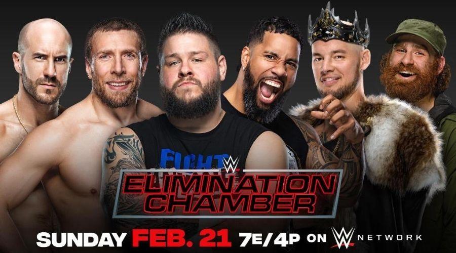 WWE Elimination Chamber 2021 VER EN VIVO