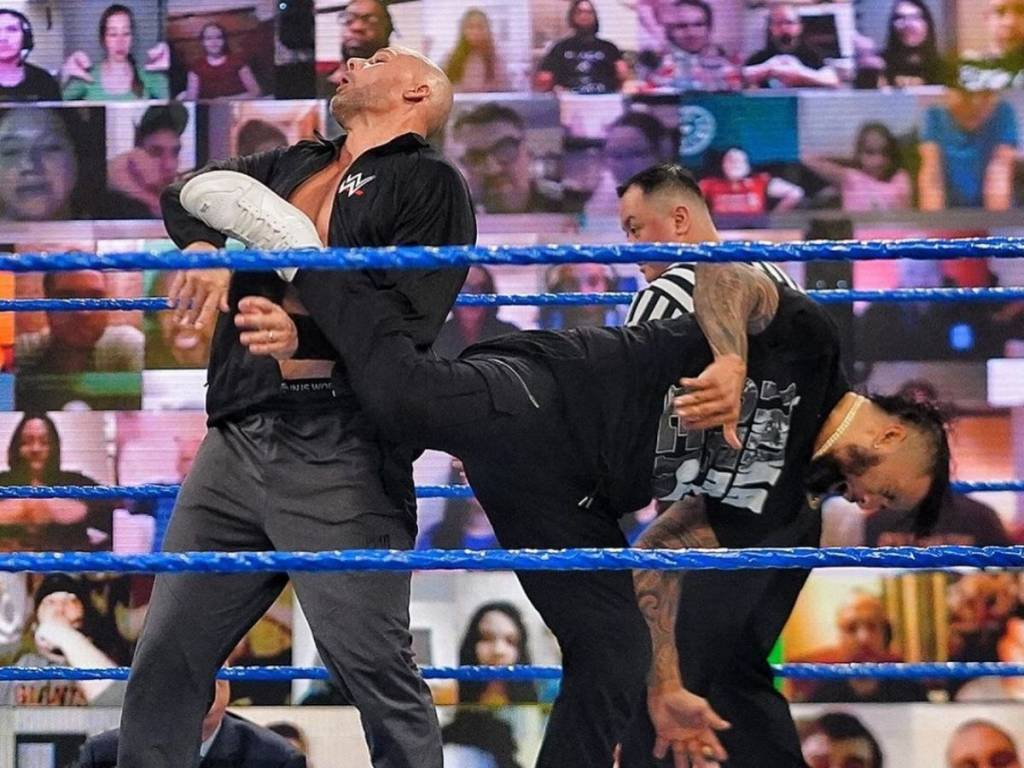 Prohibición WWE 2021 superestrellas