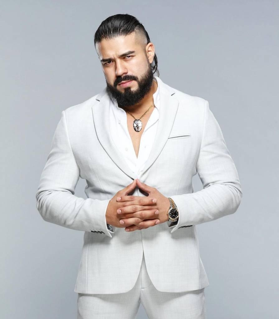 Andrade silencio WWE 2021