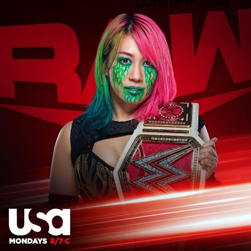 Asuka razón no estuvo Raw