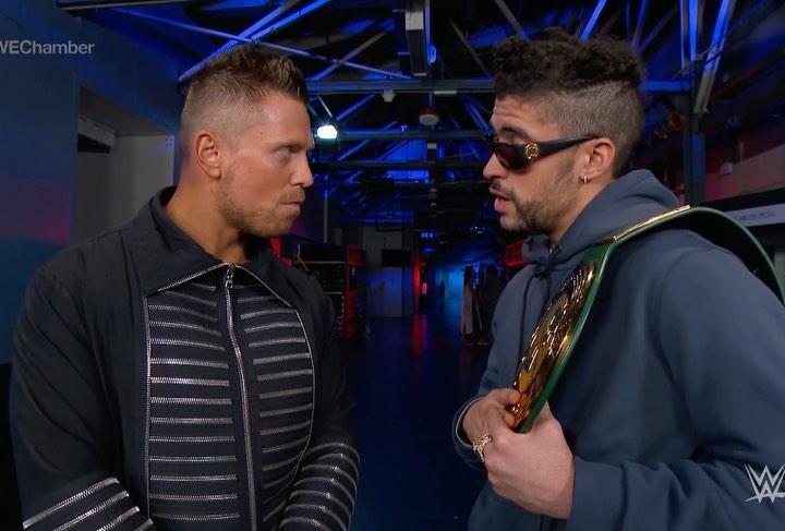 Por qué Bad Bunny The Miz lucharán solos en WrestleMania 37 2021