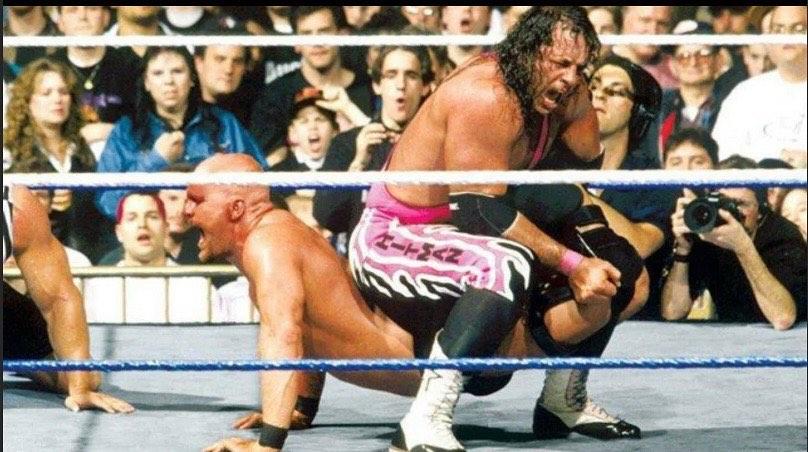 Bret Hart enfrentar WWE 2021 AJ Styles