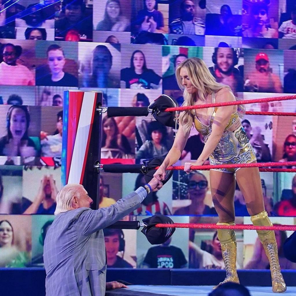 Charlotte Flair negativo hija Ric Flair WWE