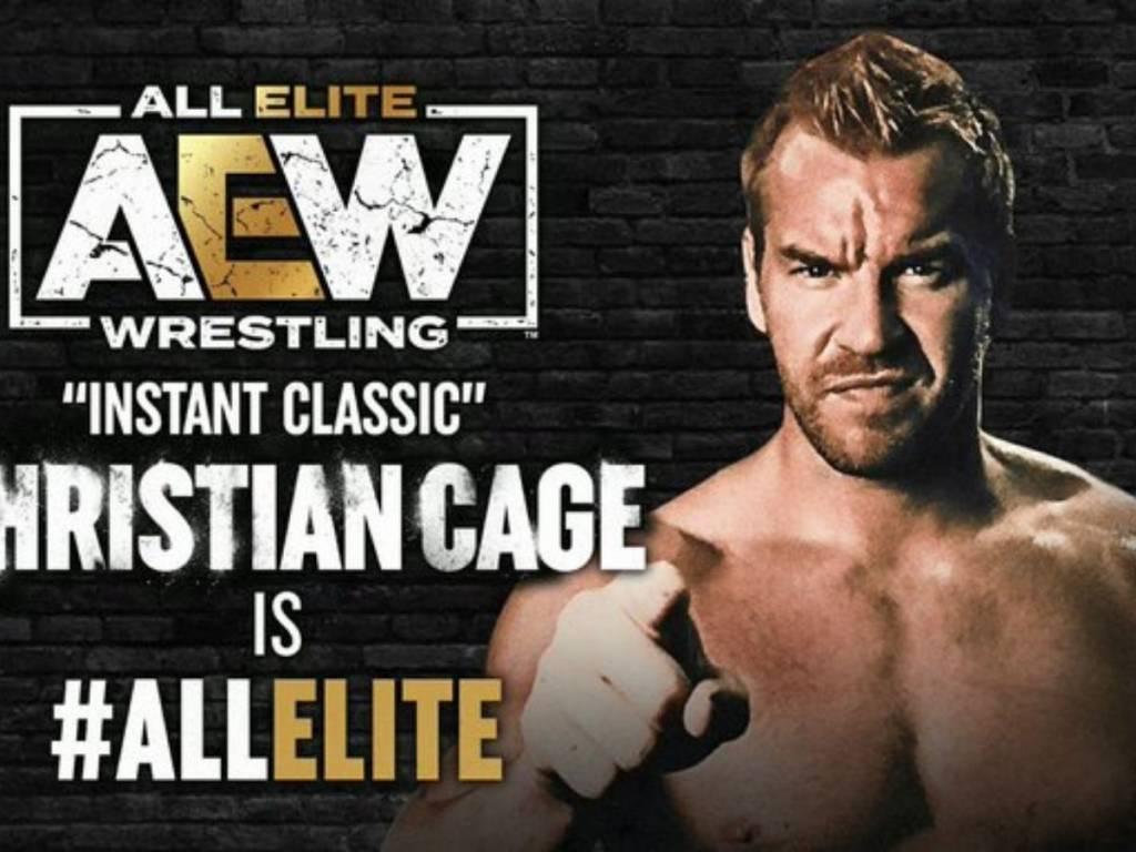 Christian Cage luchador AEW Revolution 2021